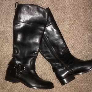 Frye Melissa Harness Riding Boots